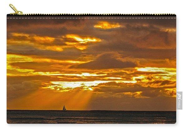 Waikiki Sun Set Carry-all Pouch