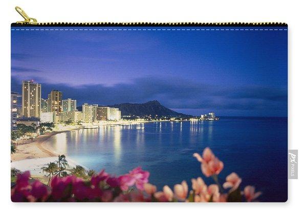 Waikiki Twilight Carry-all Pouch