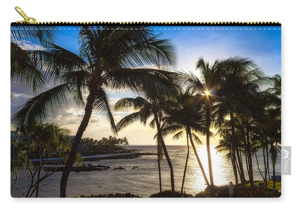 Waikoloa Sunset Carry-all Pouch