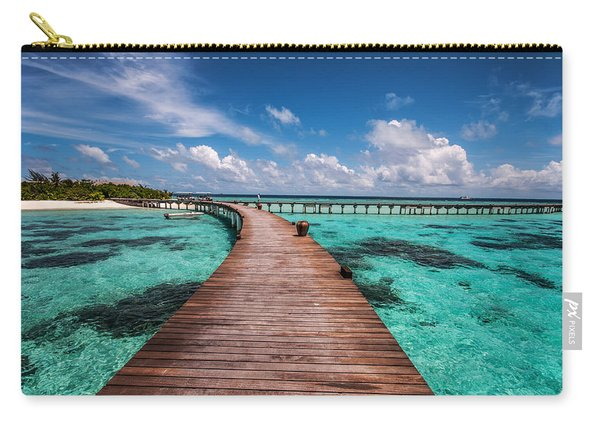 Walk Over The Water Carry-all Pouch