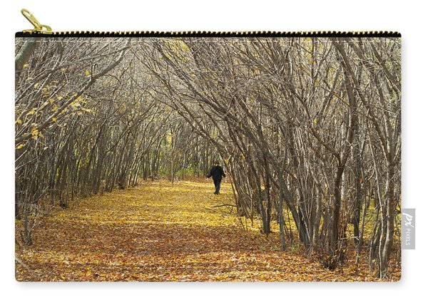 Walking A Golden Road Carry-all Pouch