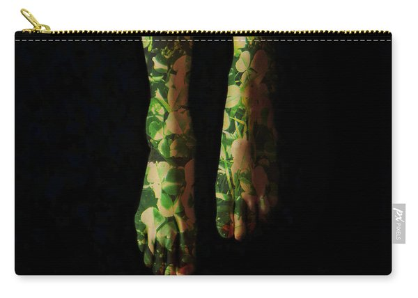 Walking In Clover Carry-all Pouch