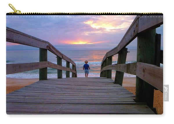 Walking Into Paradise Carry-all Pouch
