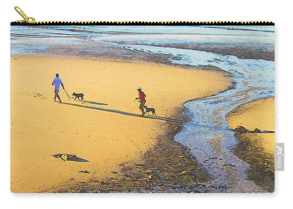 Walking The Dogs Carry-all Pouch