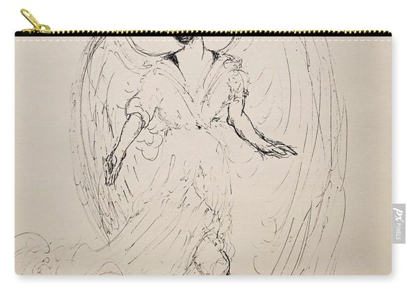 Walking With An Angel Carry-all Pouch