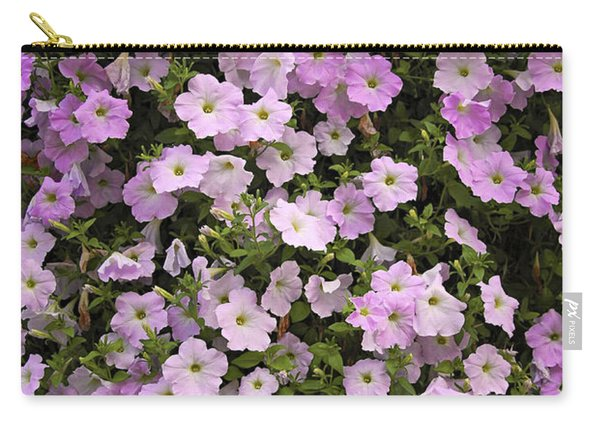 Wall Of Petunias Carry-all Pouch