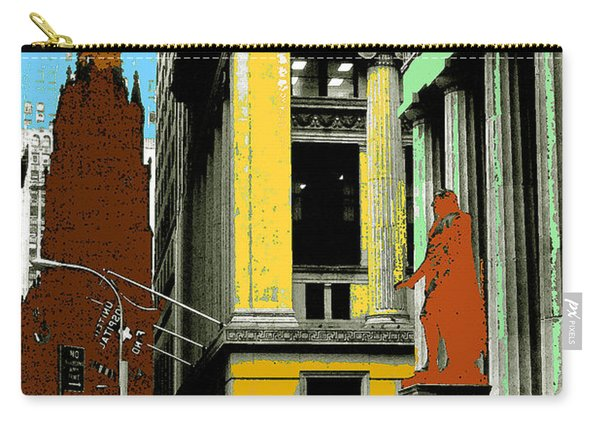 New York Pop Art 99 - Color Illustration Carry-all Pouch