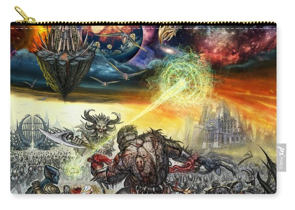 War Has No Boundaries  Carry-all Pouch