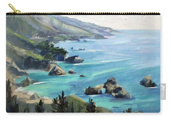 Warm Winter Day Big Sur Carry-all Pouch