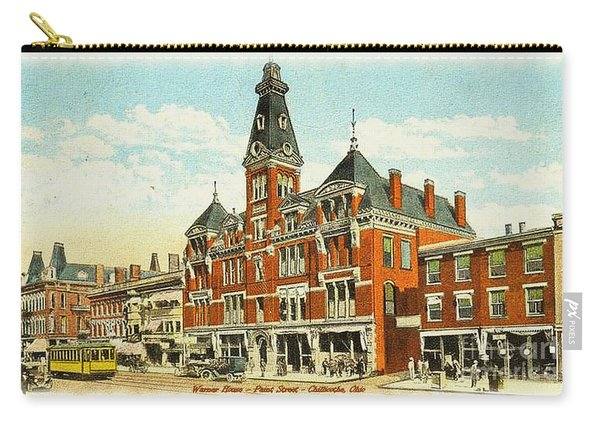 Warner House - Chillicothe Ohio Carry-all Pouch