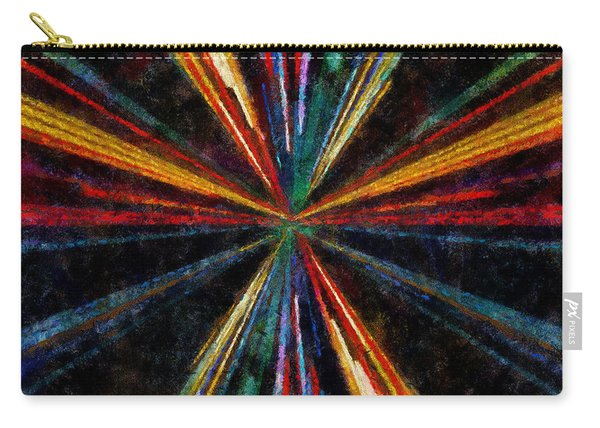 Warp Speed Abstract Pilots View Carry-all Pouch