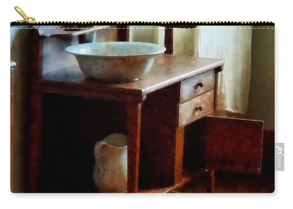 Wash Basin And Towel Carry-all Pouch
