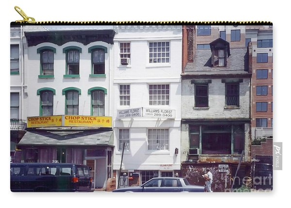 Washington Chinatown In The 1980s Carry-all Pouch