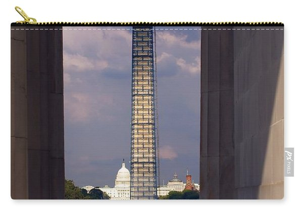 Washington Monument And Capitol 2 Carry-all Pouch
