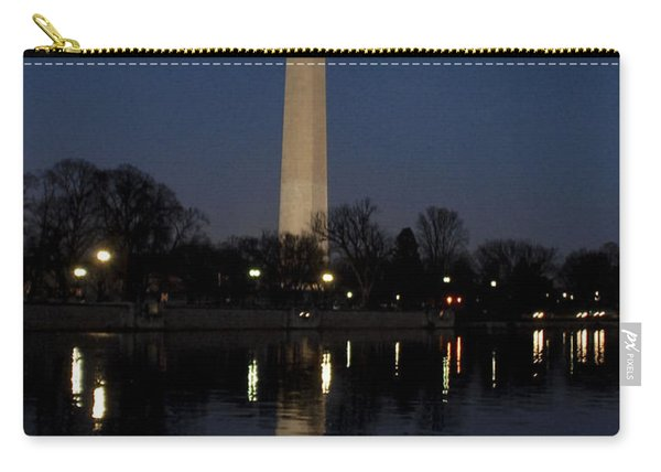 Washington Monument At Nigh Carry-all Pouch