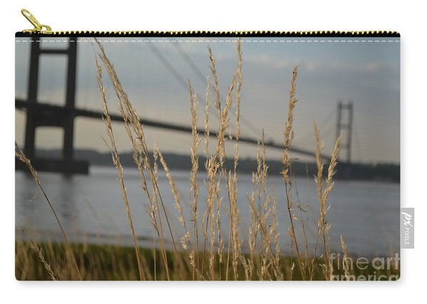 Carry-all Pouch featuring the photograph Wasting Time By The Humber by Scott Lyons