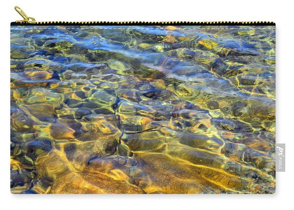 Water Abstract Carry-all Pouch