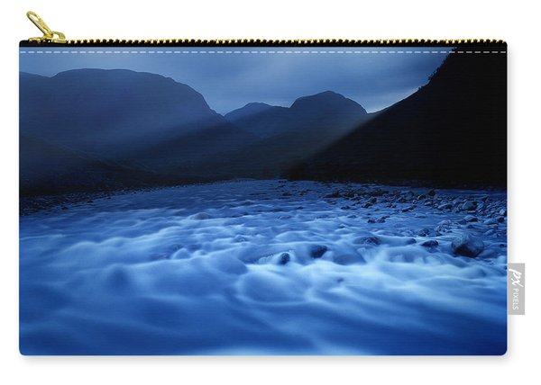 Water Blues Carry-all Pouch