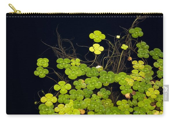 Water Clover Carry-all Pouch
