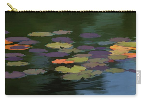 Water Lilies  Nymphaeaceae  On A Pond Carry-all Pouch
