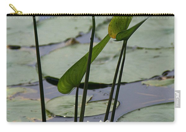 Water Lily In Bloom Carry-all Pouch