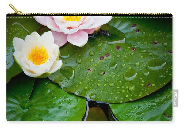 Water Lily Study Carry-all Pouch