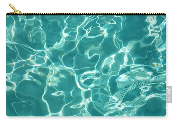 Water Meditation I. Five Elements. Healing With Feng Shui And Color Therapy In Interior Design Carry-all Pouch