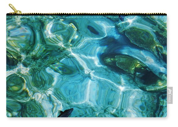 Water Meditation II. Five Elements. Healing With Feng Shui And Color Therapy In Interior Design Carry-all Pouch