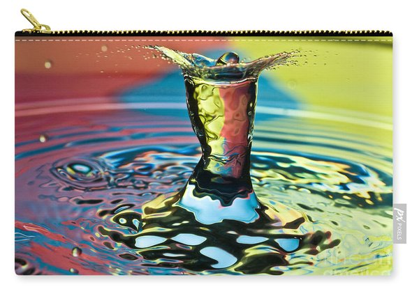 Water Splash Art Carry-all Pouch