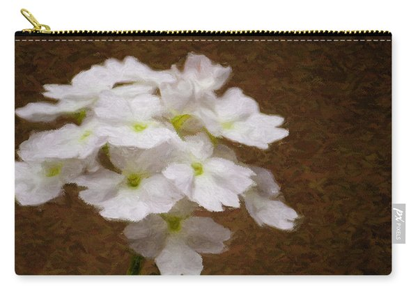 Watercolor Of Daisies Carry-all Pouch