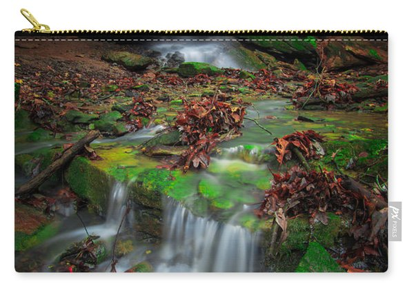 Frankfort Mineral Springs Waterfall  Carry-all Pouch