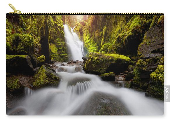 Waterfall Glow Carry-all Pouch