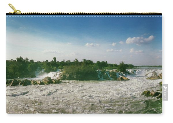 Waterfalls Of Si Phan Don, Mekong Carry-all Pouch