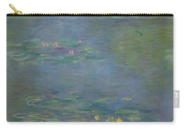 Waterlilies, Detail, 1903 Carry-all Pouch