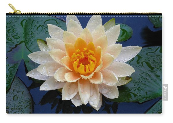 Waterlily After A Shower Carry-all Pouch