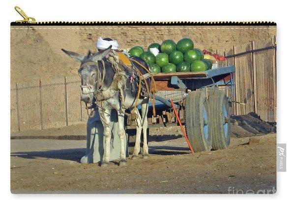 Watermellon Cart Karnac Egypt Carry-all Pouch