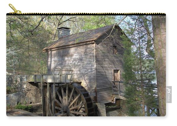 Waterwheel At Stone Mountain Carry-all Pouch