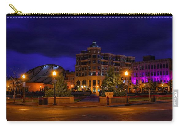 Wausau's 400 Block After Dark Carry-all Pouch
