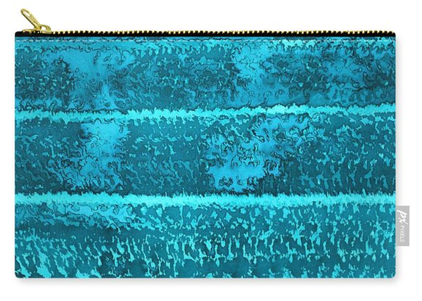 Waves Original Painting Carry-all Pouch
