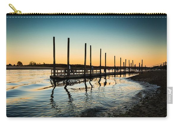 Wavy Sunset Kings Park New York Carry-all Pouch