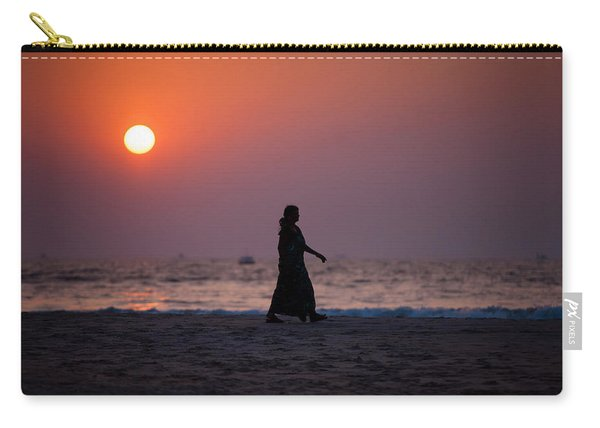 Way Home. Goan Sunset. India Carry-all Pouch