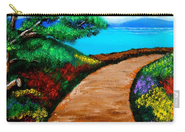 Way To The Sea Carry-all Pouch