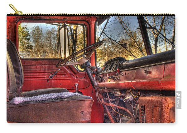 Weathered And Worn  Carry-all Pouch