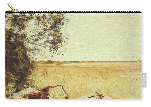 Weathered Australian Automobilia Carry-all Pouch