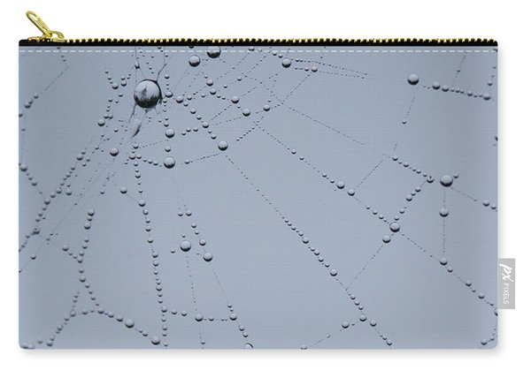 Web Fractal Carry-all Pouch