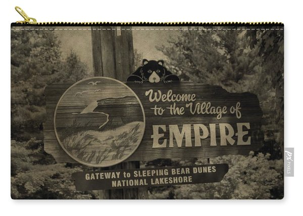 Welcome To Empire Michigan Carry-all Pouch