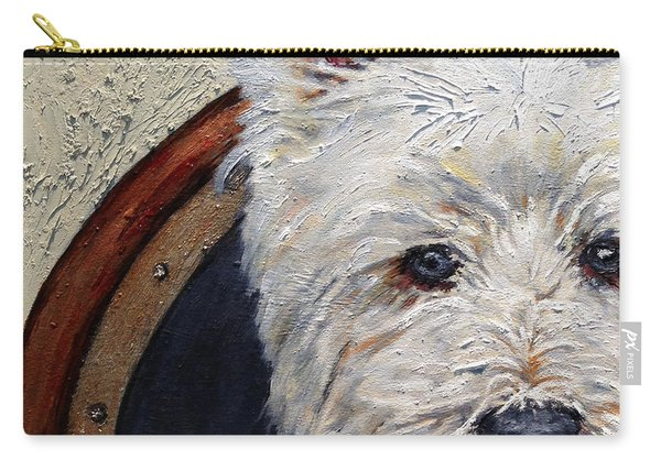 West Highland Terrier Dog Portrait Carry-all Pouch
