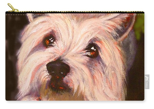 West Highland Terrier Reporting For Duty Carry-all Pouch