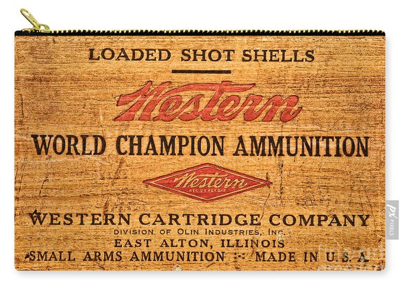 Western Ammunition Box Carry-all Pouch