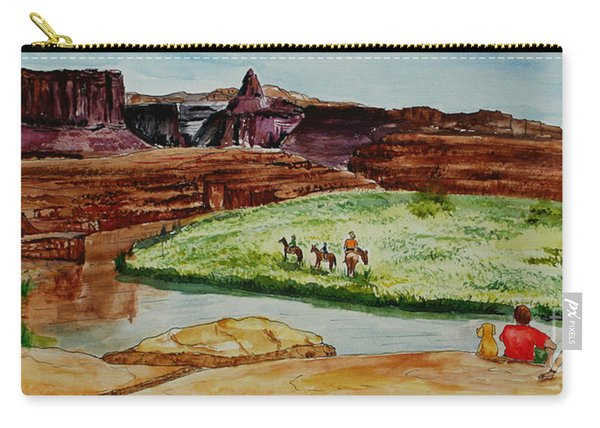 Western Canyons Carry-all Pouch